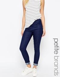 Укороченные джинсы скинни Waven Petite Freya - Синий