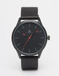 Черные часы с красной отделкой ASOS - Красный