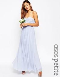 Длинное сетчатое платье-трансформер ASOS PETITE WEDDING