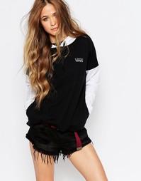 Худи с принтом Off The Wall на капюшоне Vans - Eliska hoodie