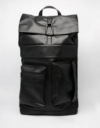 Рюкзак из искусственной кожи Dark Future - Черный