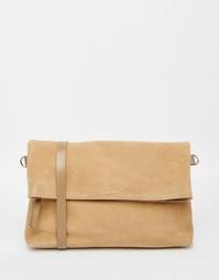 Замшевая сумка через плечо Jack Wills Northcote - Рыжий