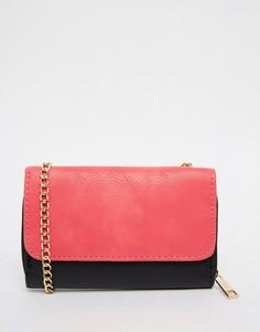 Маленькая сумка через плечо с ремешком-цепочкой Yoki Fashion - Черный