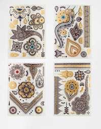 Татуировки из хны ограниченной серии Lottie - Жженая сиена