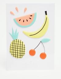Наклейки с тропическими фруктами Meri Meri - Мульти