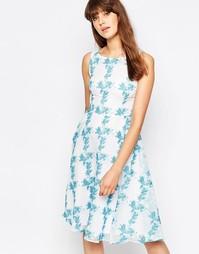 Платье с цветочным принтом Traffic People Twirl
