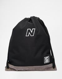 Рюкзак с завязкой New Balance 420 - Черный