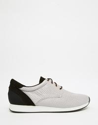 Серые кроссовки с тканым верхом Vagabond Kasai - Серый