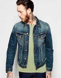 Джинсовая куртка Nudie Jeans Billy Trucker - Дружественный синий