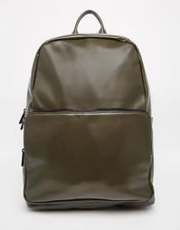 Рюкзак цвета хаки из искусственной кожи ASOS - Хаки
