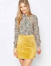 Рубашка Family Affairs Roxy Afternoon - Леопардовый принт