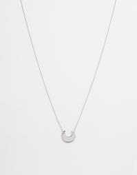 Ожерелье с подвеской Weekday - Серебряный