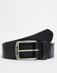 Классический кожаный ремень Levi's - Черный Levi's®