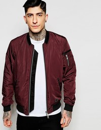 Куртка-пилот с карманами Brixtol - Bordeaux