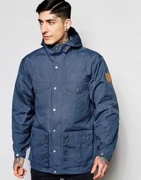 Куртка с капюшоном Fjallraven Greenland - Uncle blue