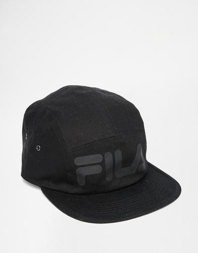 5-панельная кепка Fila Black Line - Черный