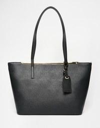 Небольшая сумка-тоут с металлической планкой ALDO - Черный