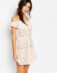 Кружевное платье Somedays Lovin Verona - Blush