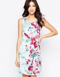 Цельнокройное платье с цветочным узором Lavand - B