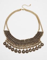 Ожерелье Pieces Bolette - Золотой