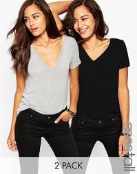 Комплект из 2 мягких футболок ASOS TALL The New Forever, СКИДКА 15%