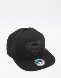 Бейсболка с логотипом Супермена ASOS - Черный