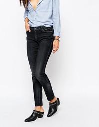 Выбеленные черные джинсы зауженного кроя Blank NYC - Grey area anatomy