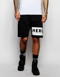 Трикотажные шорты Hero's Heroine - Черный