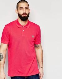 Футболка-поло с логотипом-зеброй Paul Smith Jeans - Розовый