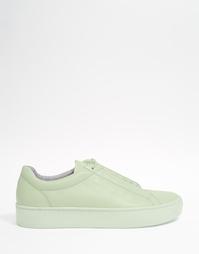 Мятно-зеленые кожаные кроссовки Vagabond Zoe - Мятный