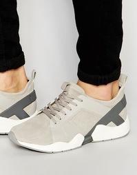 Кожаные кроссовки ALDO Atche - Бежевый