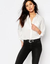 Мягкая белая рубашка Lee - Белый