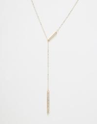 Ожерелье Lipsy - Серебряный