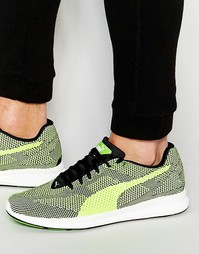 Зеленые тканые кроссовки Puma Ignite 361133 04 - Зеленый