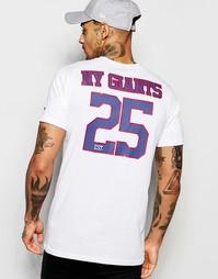 Футболка с принтом сзади New Era NFL Giants - Белый