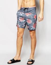 Пляжные шорты длиной 18,5 дюйма Billabong Shifty Lo Tides - Серый