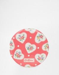 Компактное зеркальце с принтом сердечек и кружева Cath Kidston