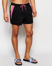 Короткие шорты для плавания ASOS - Черный