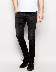 Черные джинсы скинни с заниженной талией Edwin Jeans ED-85