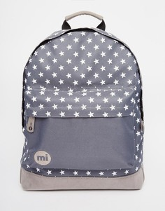 Темно-серый рюкзак с карманом колор блок Mi‑Pac All Stars - Угольный