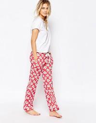 Пижамные штаны с принтом Cath Kidston - Красный