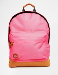 Классический рюкзак ярко-розового цвета Mi-Pac - Hot pink
