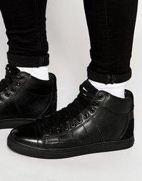 Высокие кроссовки G-Star Stanton - Черный