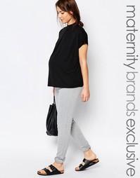 Домашние спортивные брюки для беременных Bluebelle - Серый