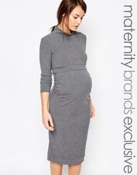 Свободное платье два в одном для беременных Bluebelle Maternity