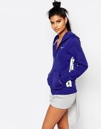 Худи на молнии с логотипом на ленте Nike Club