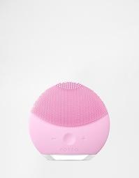 Розовая очищающая щетка для лица Foreo Luna Mini 2 - Pearl pink