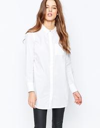 Рубашка с длинными рукавами Y.A.S Homie - Снежно-белый