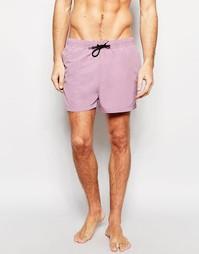Фиолетовые короткие шорты для плавания ASOS - Фиолетовый