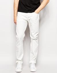 Темные джинсы слим из натурального денима Edwin ED-80